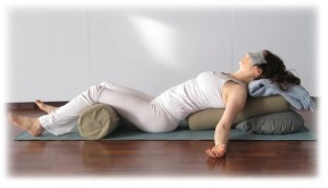 Restorative savasana